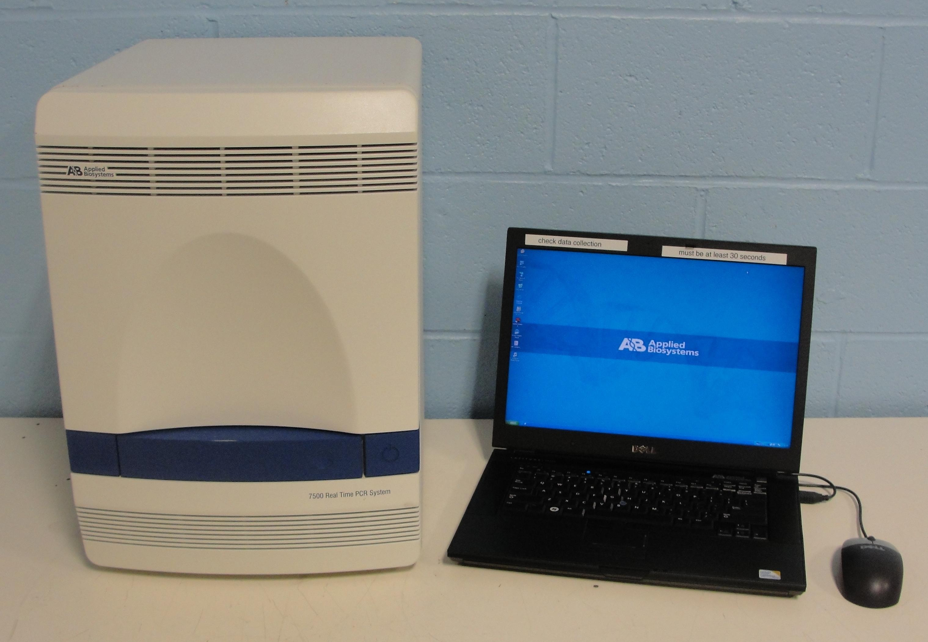 ABI 7500 RealTime PCR Complete System - New Performance Service
