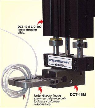 Pneumatic Angular Grippers DCT Series