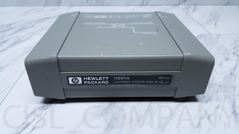 HP Agilent Keysight 11891A Lightwave Coupler MMF 1300nm 50/125m