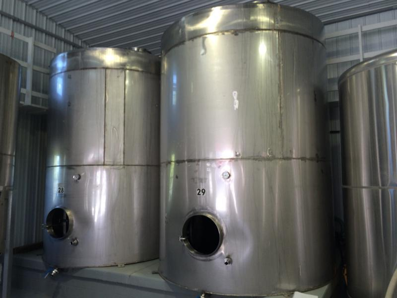 4000 Gallon Stainless Steel Sanitary Tanks (2 Available)