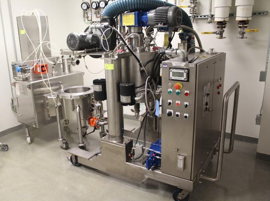 Rosenmund RoLab 0.1 Sq.M. Nutsche Filter Dryer ALLOY 22