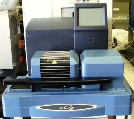 TA Instruments Q600  TGA/DTA