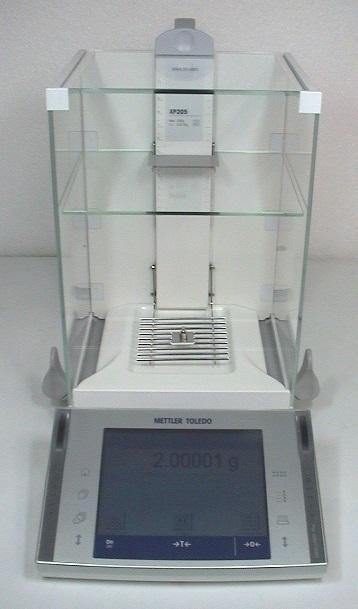 METTLER TOLEDO XP205 BALANCE