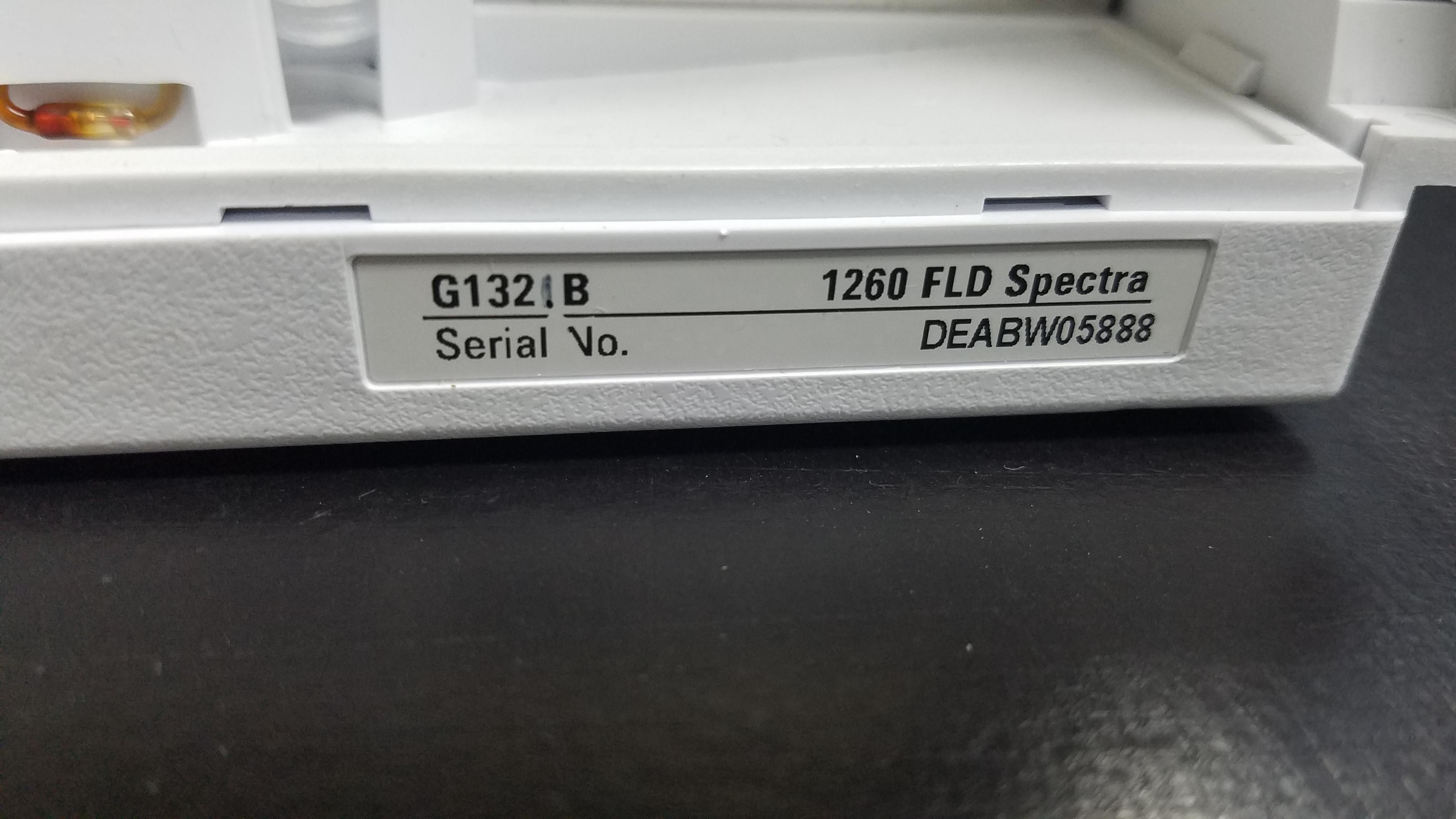 Agilent 1260 G1321B FLD Detector - Tested