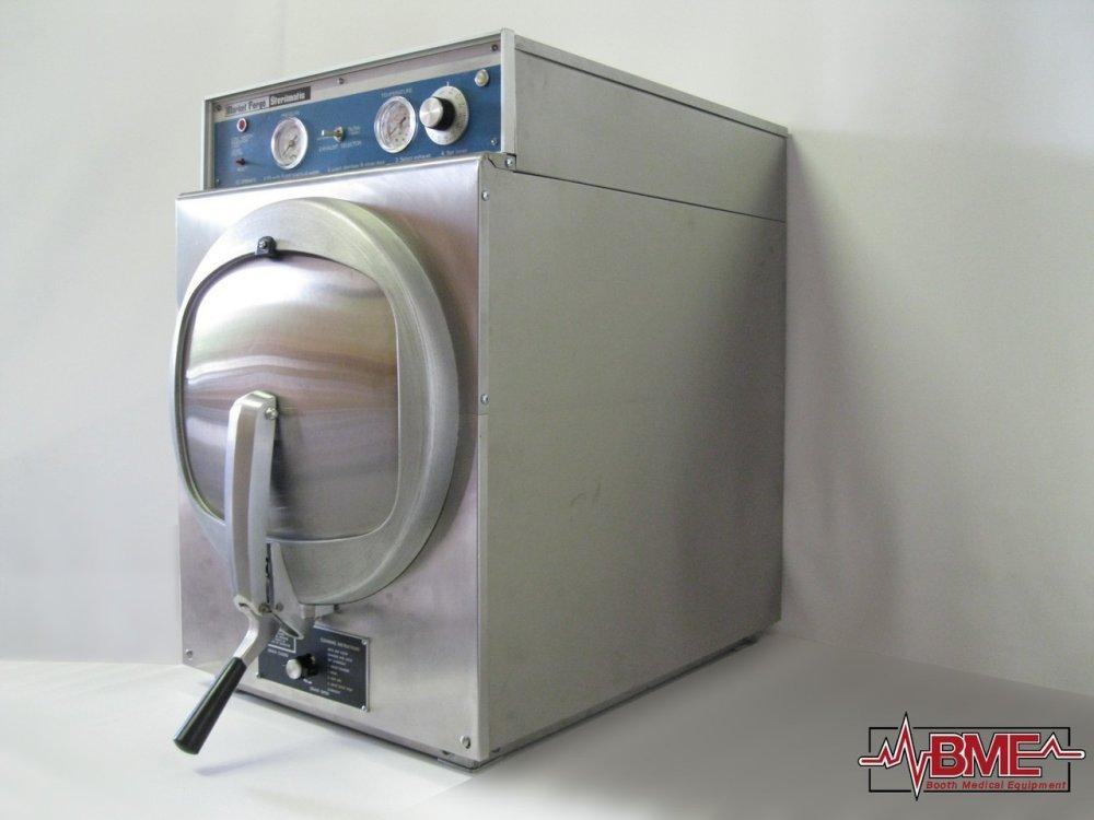 Market Forge STM-E Sterilmatic Autoclave Sterilizer Refurbished - Boothmed