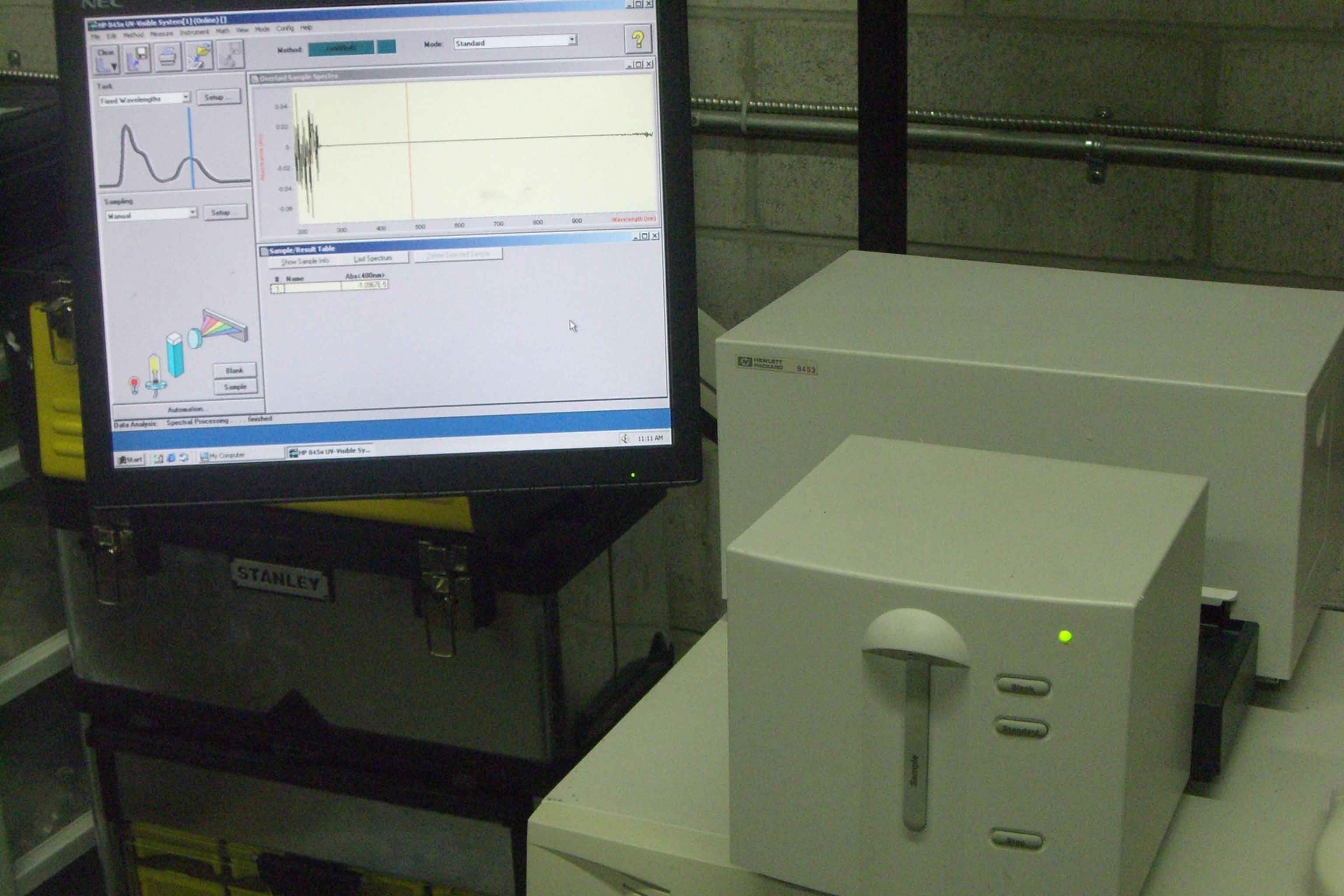 HP/Agilent 8453 DAD Spectrophotometer