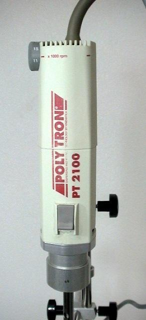 Kinematica Polytron PT MR 2100 Homogenizer with Stand