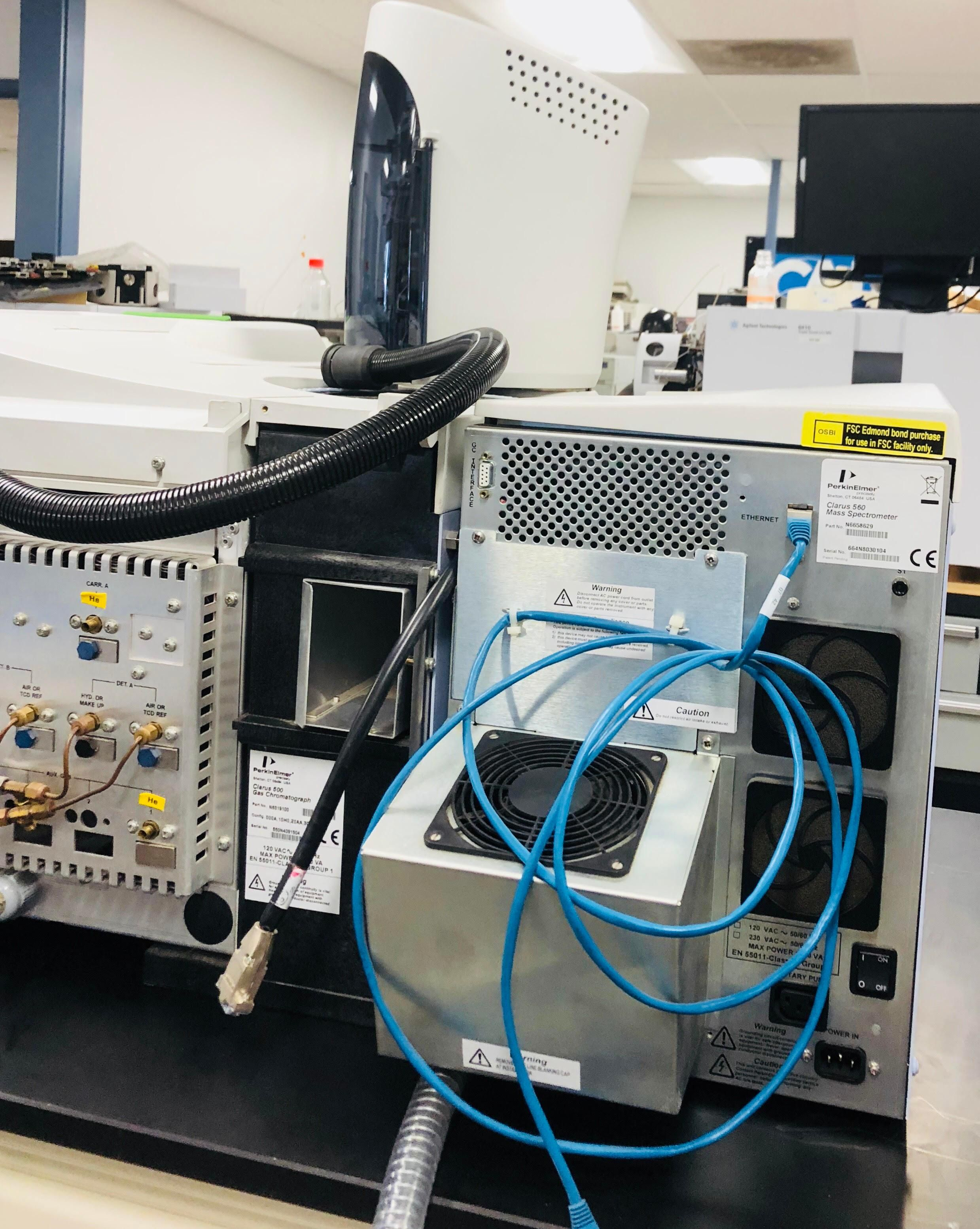 Perkin Elmer Clarus 500 GC With 560D MS and Turbo Matrix 110