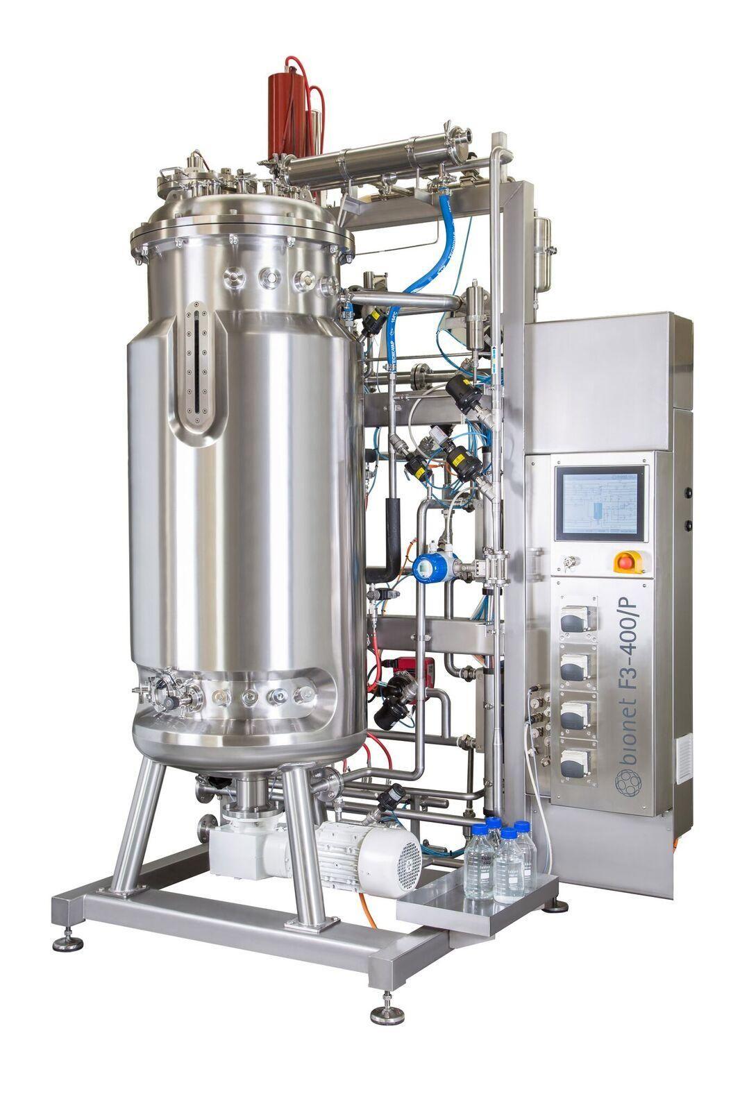 Fermenter/Bioreactor, SIP, CIP 50-500 Litres, BioNet (Spain)