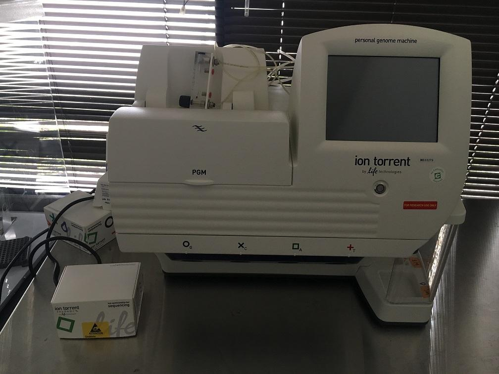 Ion Torrent PGM System for Next-Generation Sequencing Certified and Warranty