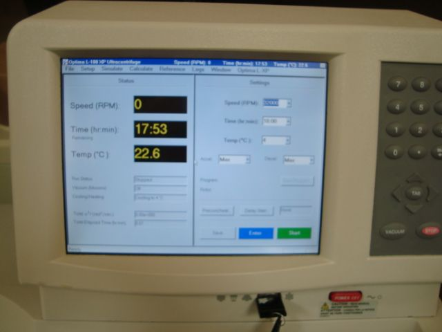 Beckman Optima L-100XP Ultracentrifuge - Certified and Warranty