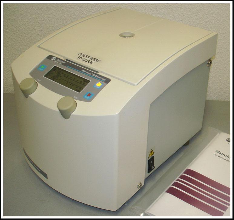 Beckman Micro Centrifuge Microfuge 18 WARRANTY