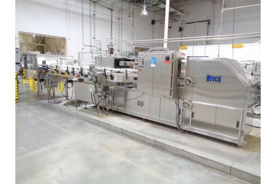 BULK LOT - LIQUID PACKAGING LINE (JUICE LINE #2)