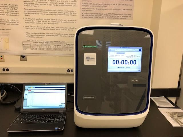 ABI QuantStudio 7 Real-Time PCR System-New PM Service- Year 2013