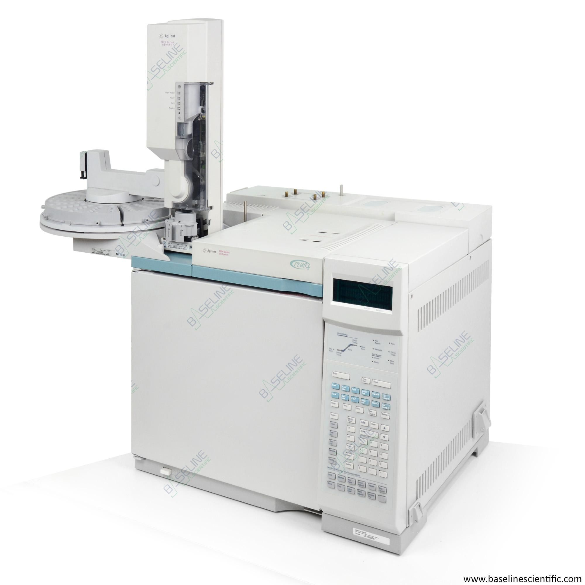 Refurbished Agilent 6890 GC with SSL Inlet and FID and 7683 Series Autosampler