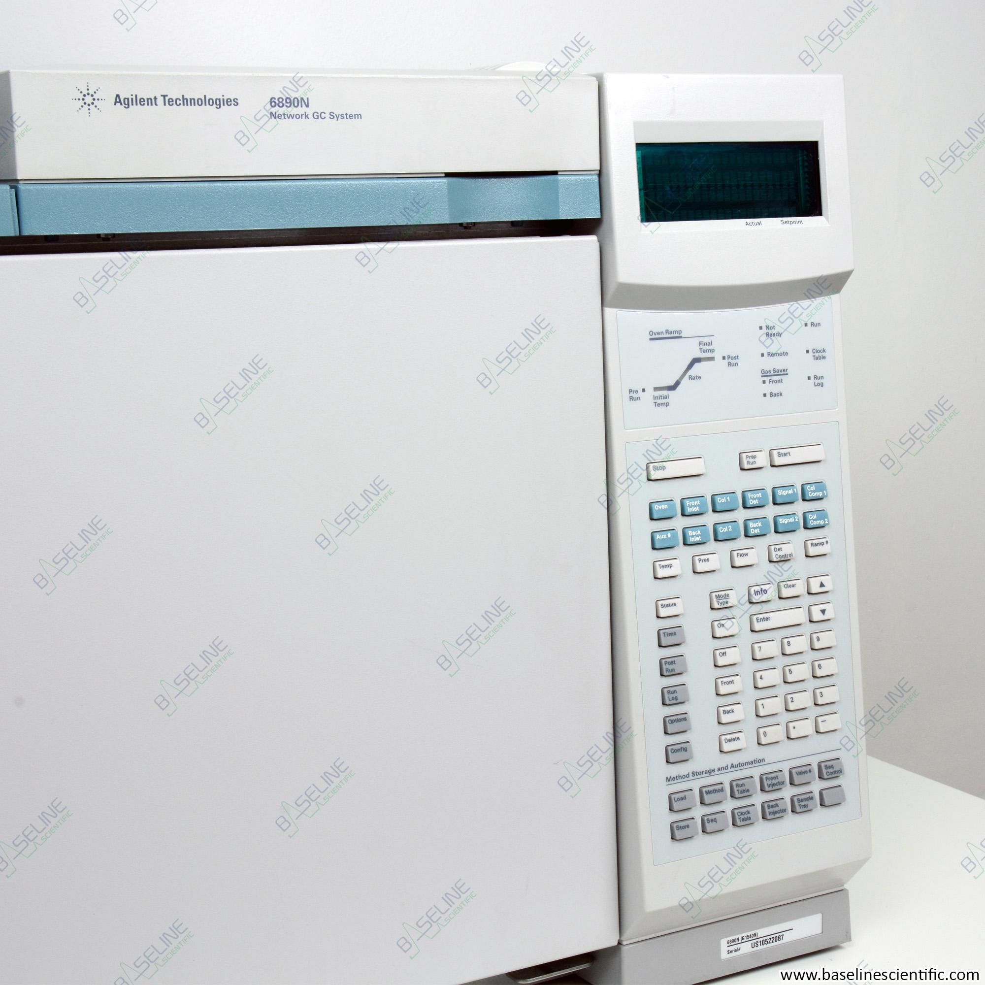 Refurbished Agilent 6890N GC and 5973N MSD and 7683 Autosampler with ONE YEAR WARRANTY
