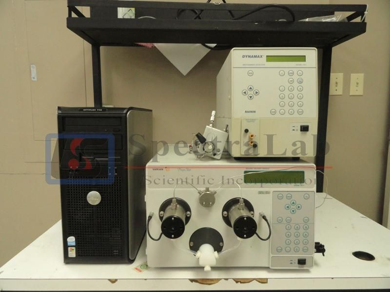 Varian prepstar HPLC include PrepStar SD-1 and Rainin Dynamax UV-1 Absorbance Detector