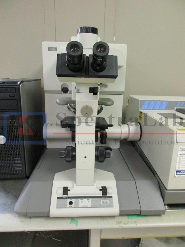 Nicolet Magna 760 IR Spectrometer with Nicolet NIC-PLAN IR Microscope