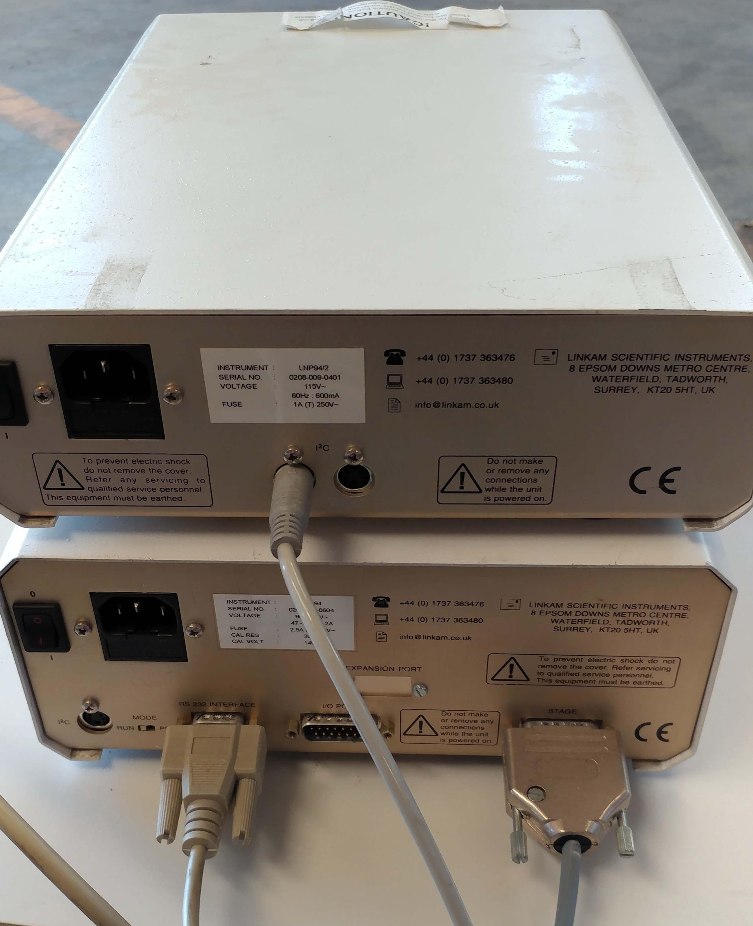 Jobin Yvon Horiba LabRam n 4/59 HR RAMAN Spectrometer- 3 Lasers