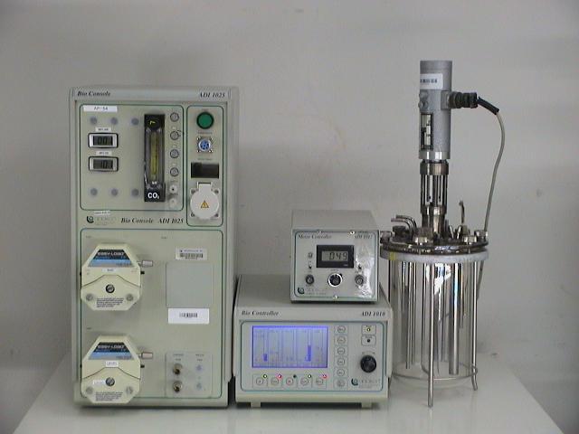 Applikon Bio Console ADI1025, with Bio Controller, Motor, Console and dual pumpheads