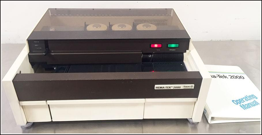 Bayer Hema-Tek 2000 (4488A) Slide Stainer w WARRANTY