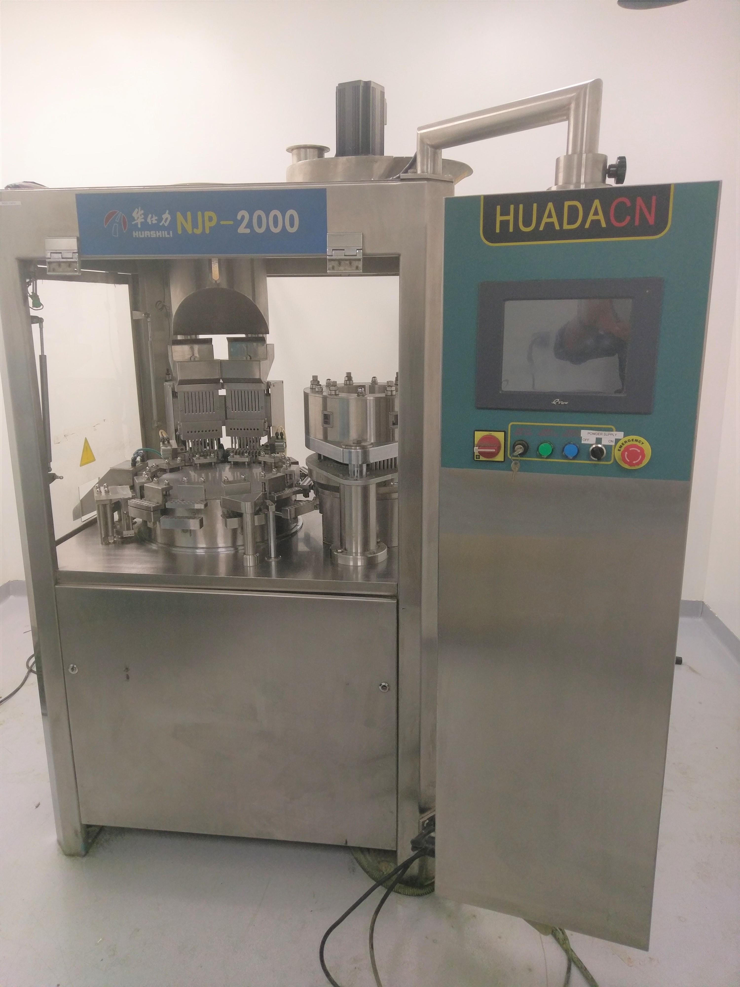 Fully automatic encapsulator with 00, 0, 1 and 2 change parts
