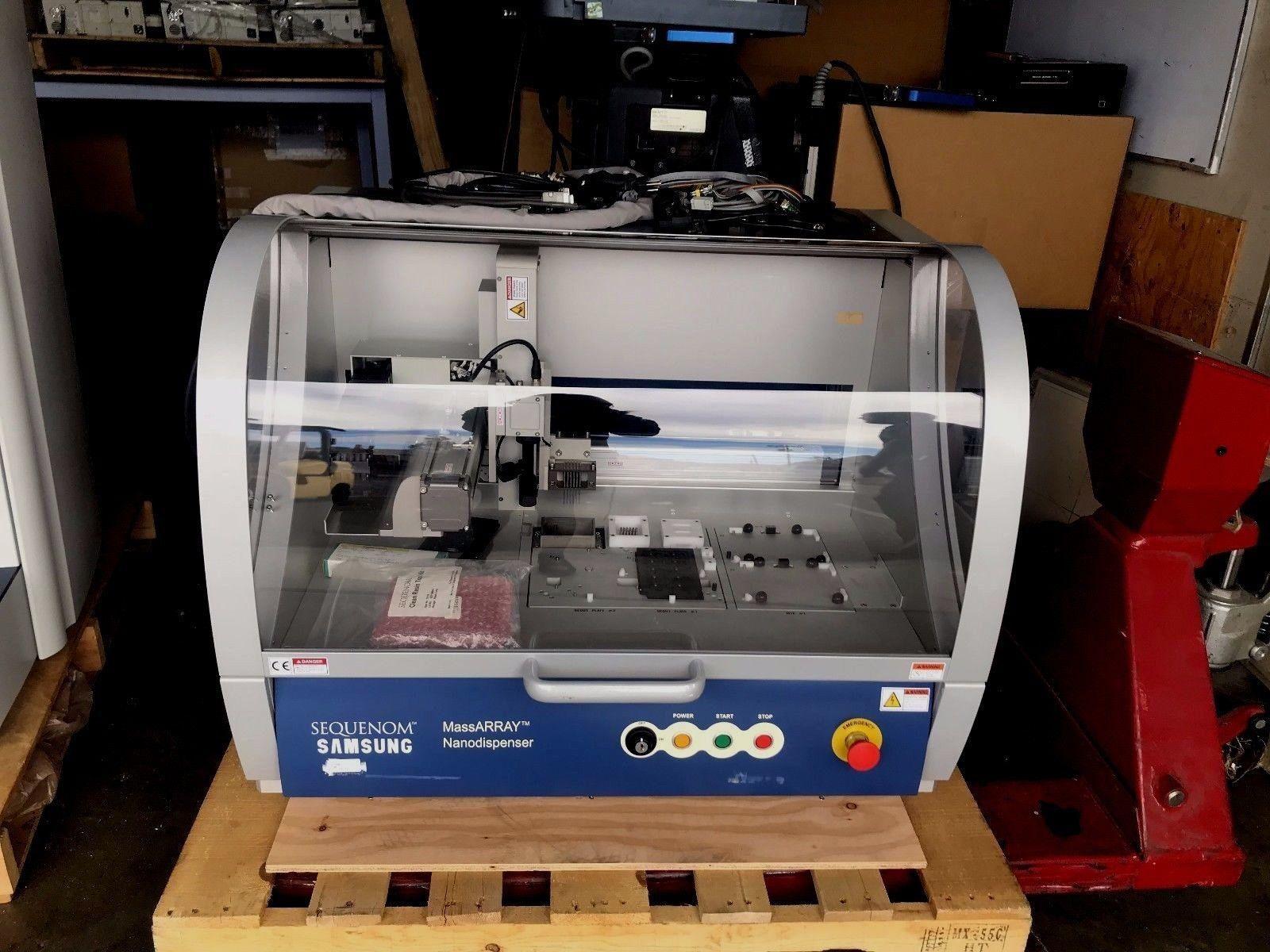 Sequenom MassARRAY Nanodispenser System/Parts Only- No Computer