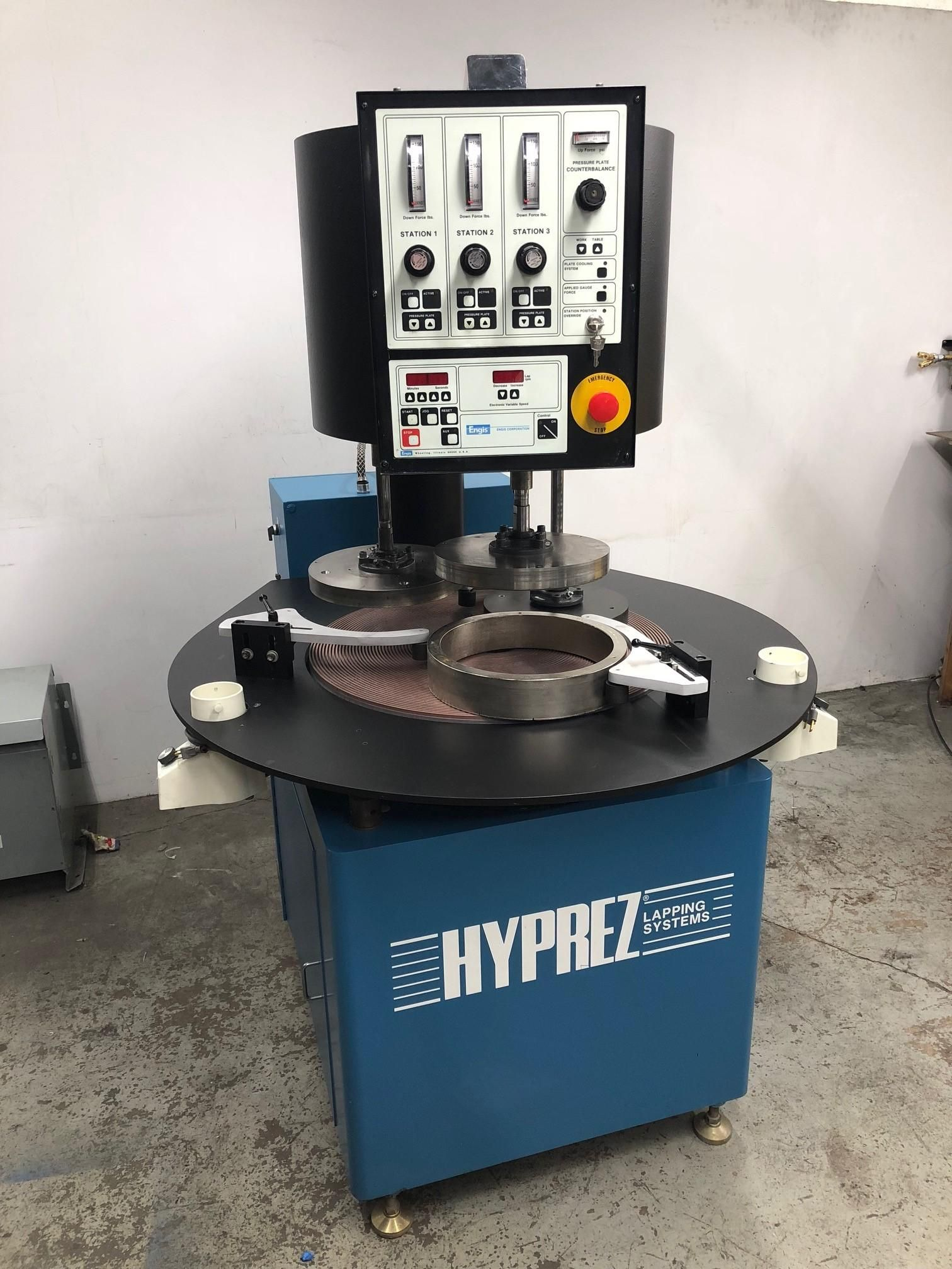"""ENGIS HYPREZ 28"""" SINGLE SIDE LAPPING SYSTEM"""