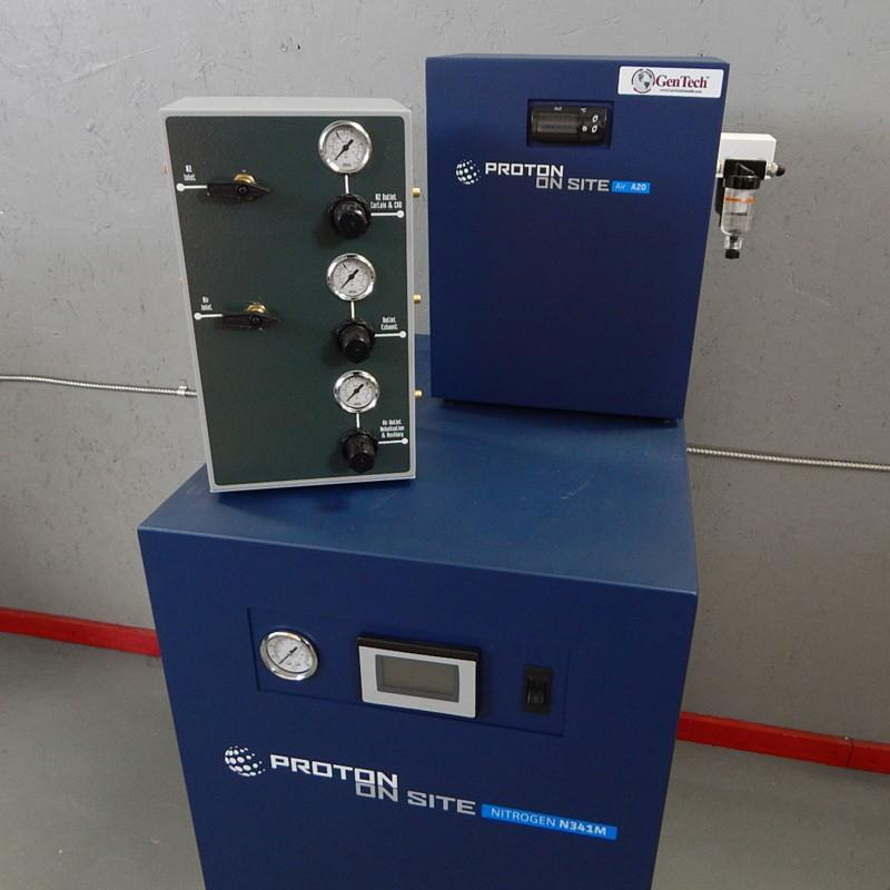 Nitrogen Gas and Zero Air Generator with Trigas Interface for Sciex Mass Spec Systems