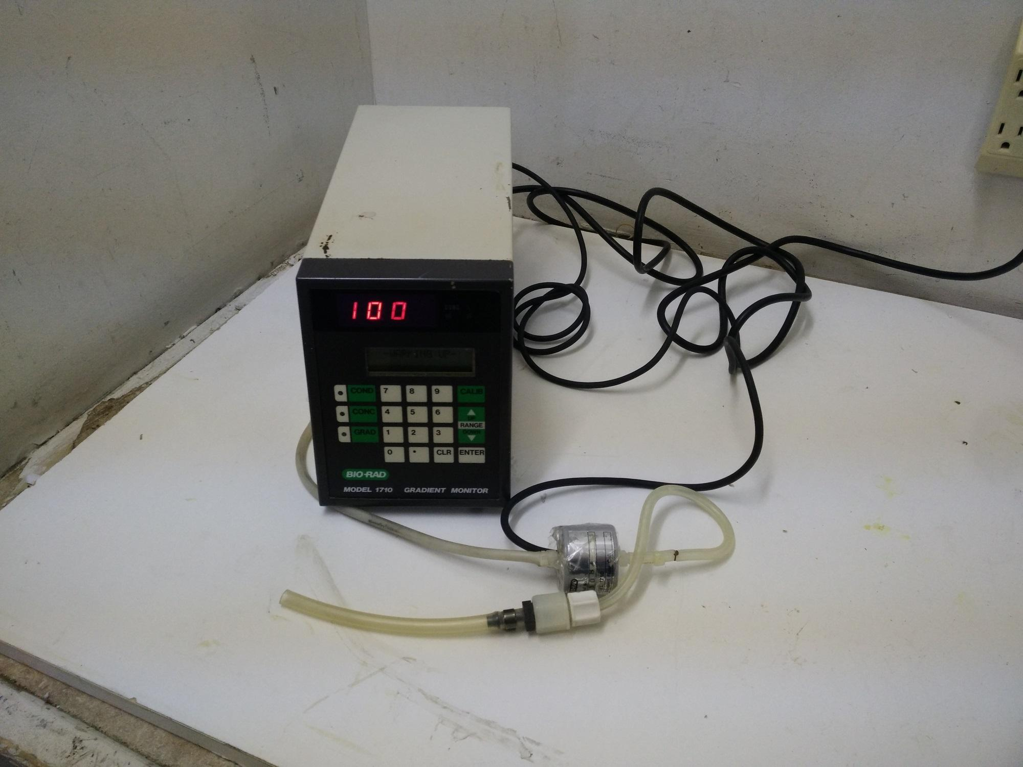 Bio-RAD Conductivity Detector 1710 Gradient Monitor HRLC HPLC