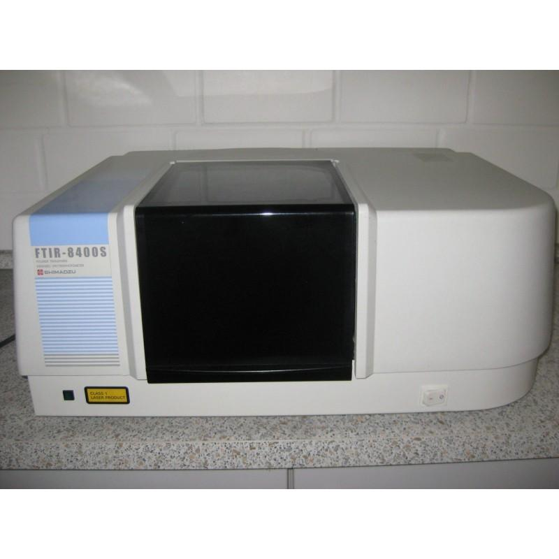 Shimadzu 8400S FTIR(400 to 4,000 )