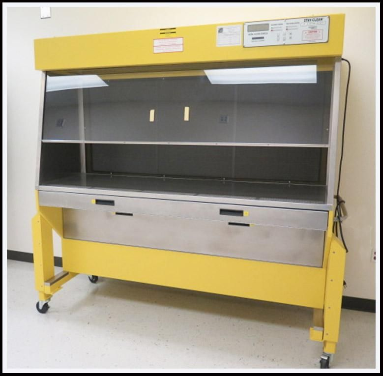 Lab Products Portable Stay-Clean Cabinet Work Bench LF/B 30910DEL