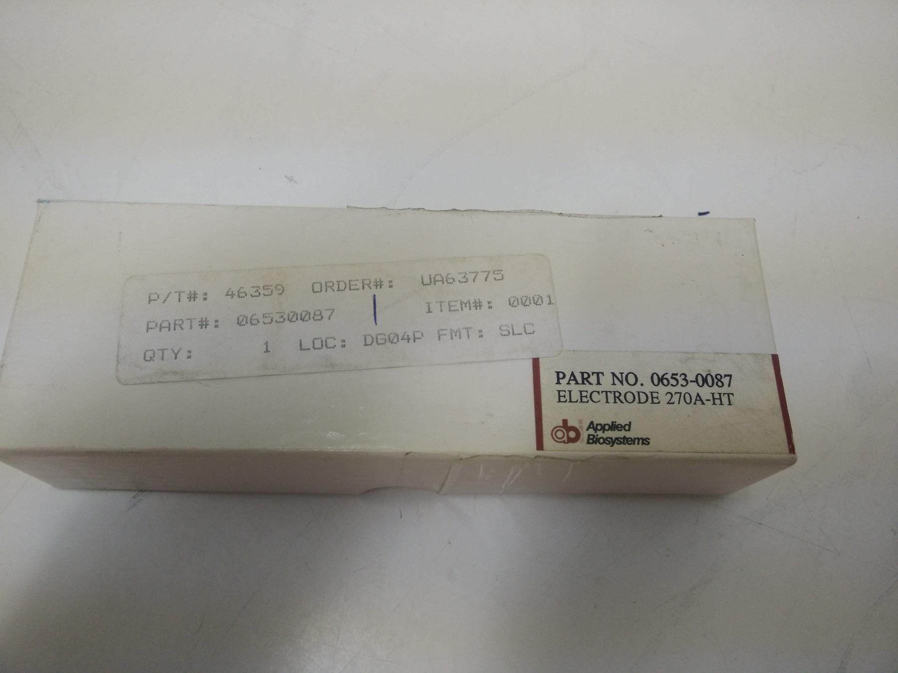 NEW Applied Biosystems Electrode 270A-HT Capillary Electrophoresis 0653-0087