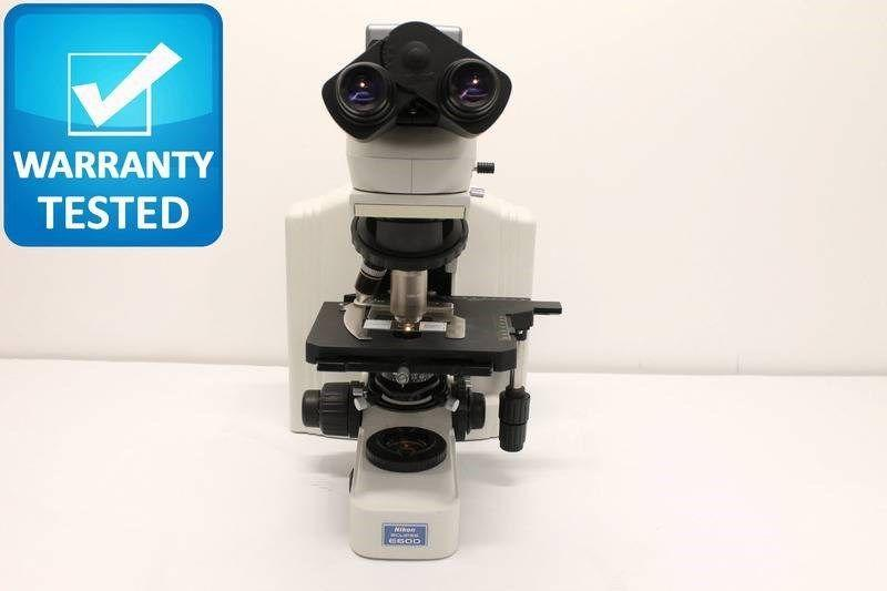 Nikon Eclipse E600 Microscope BrightField Transmitted