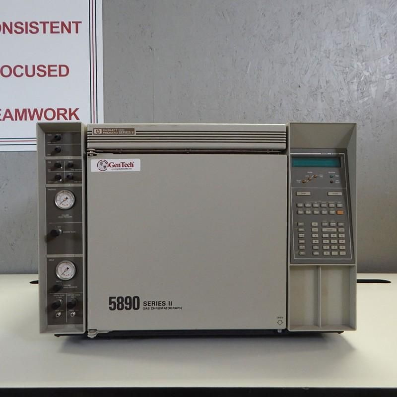 HP 5890 Series II GC with FID and TCD
