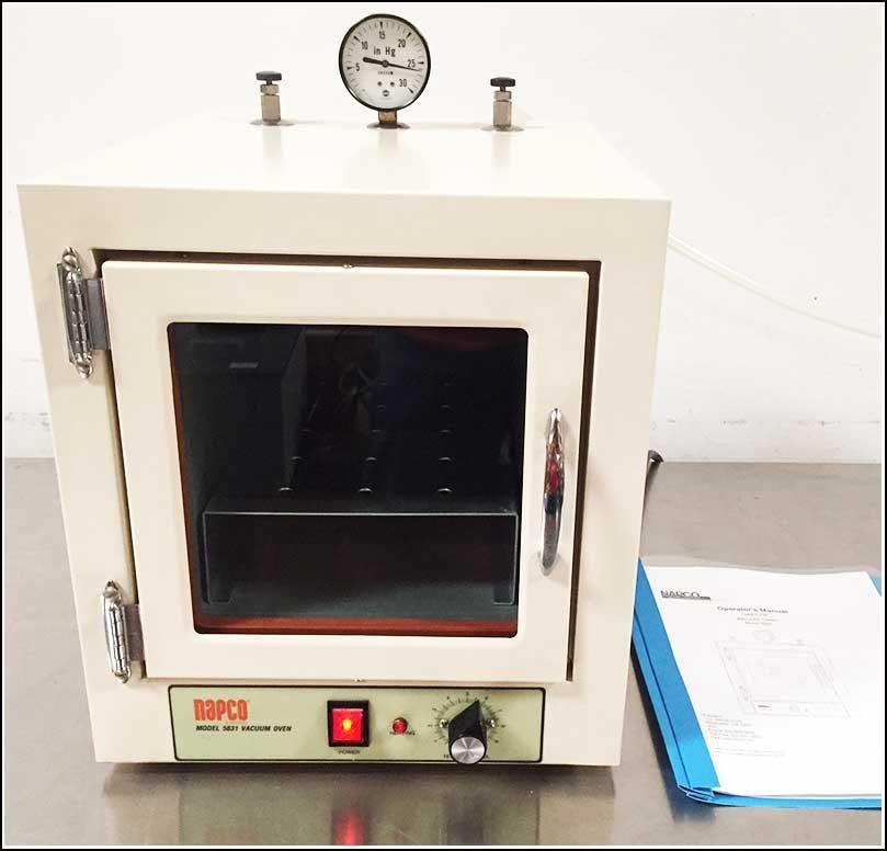 Napco Vacuum Oven 0.45cu.ft Model 5831 w WARRANTY