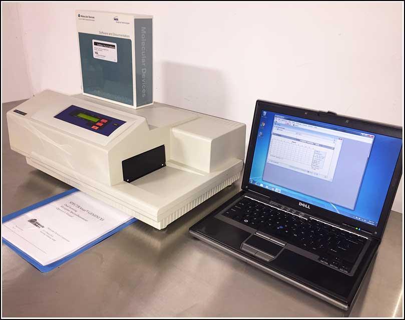 Molecular Devices Spectramax Gemini XS Fluorescence Reader Microplate