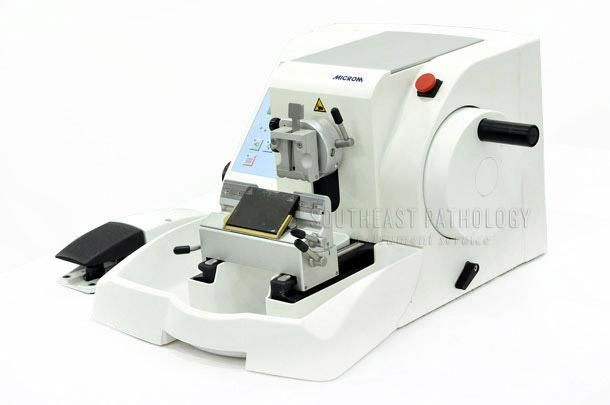 Microm HM 355S-2 Automatic Microtome, refurbished, 1 year warranty- Southeast Pathology Instrument Service
