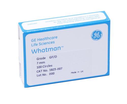 Whatman Grade GF/D Glass Microfiber Filters- Binder Free 25pk