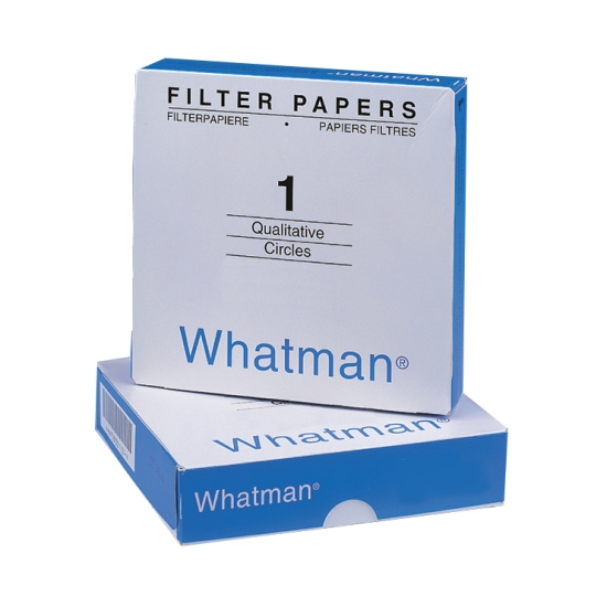 Whatman Filter Circles, 185mm Diameter, Grade 1, 100/pk
