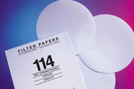 Whatman Filter Circles, 185mm Dia, Grade 4, 100/pk