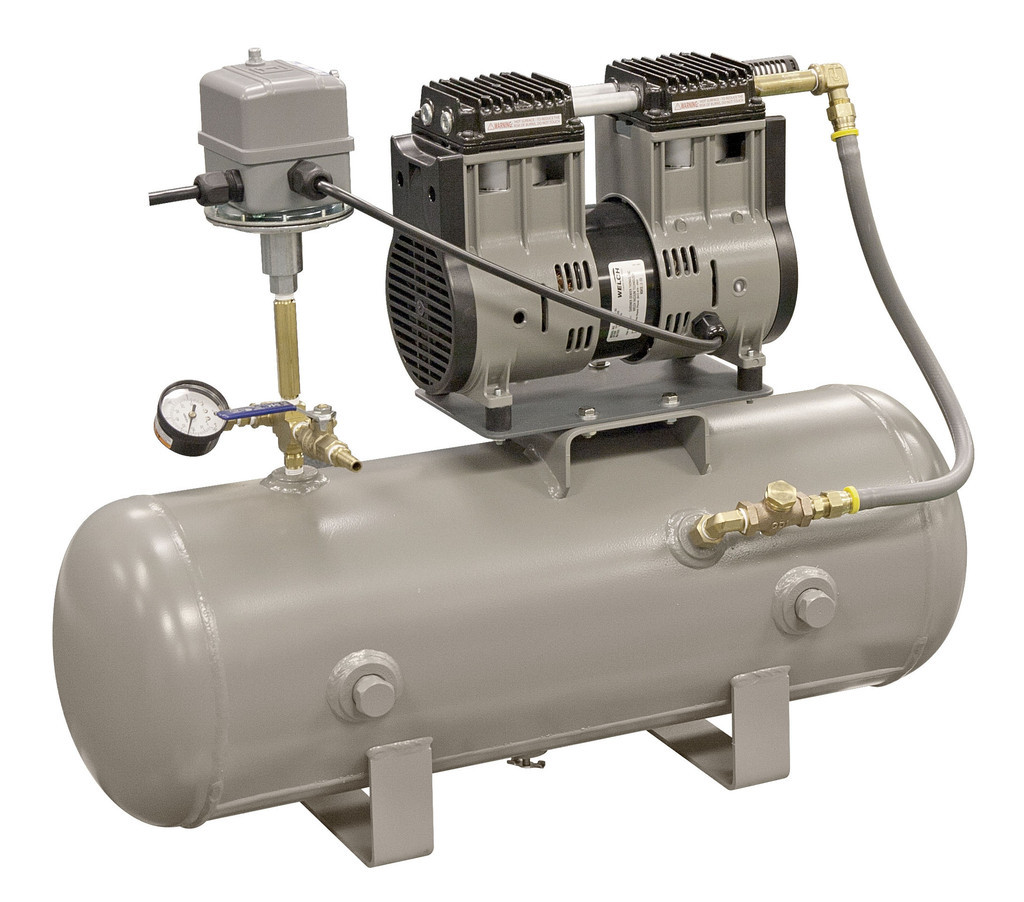 Welch 8150B-30 Oil-Free Industrial Vacuum System