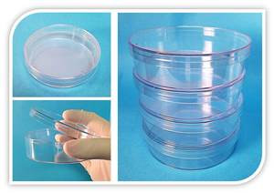 Ultra-Dish Petri Dishes, PS, 60x15mm, Sterile