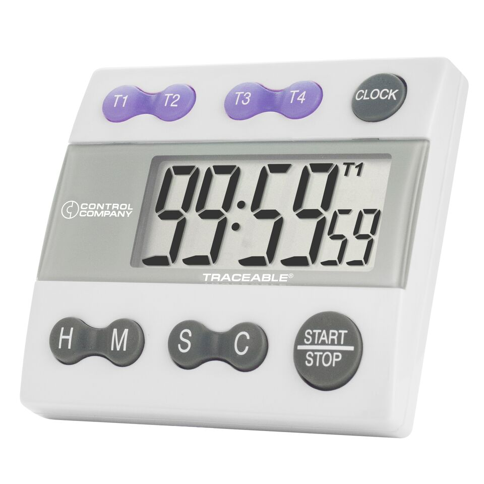 Traceable Big Digit 4-Channel Timer