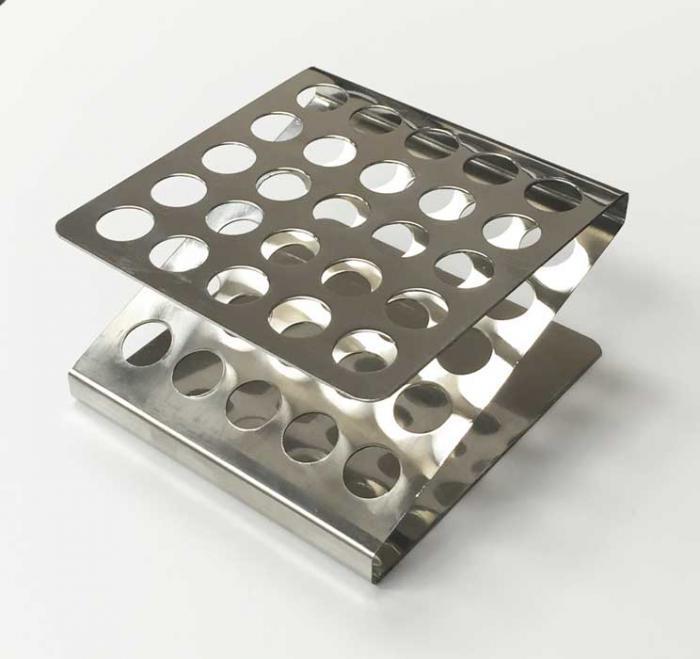 Test Tube Rack, Stainless Steel