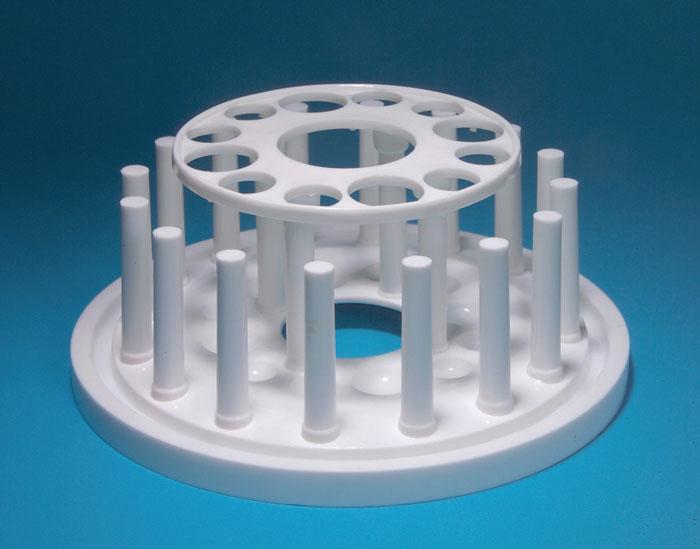 Test Tube Rack, Round, 12-Tube, PP