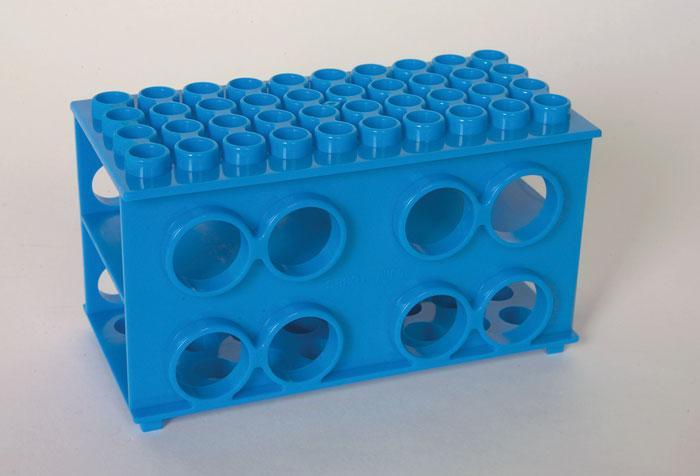 Test Tube Rack, Cube, PP