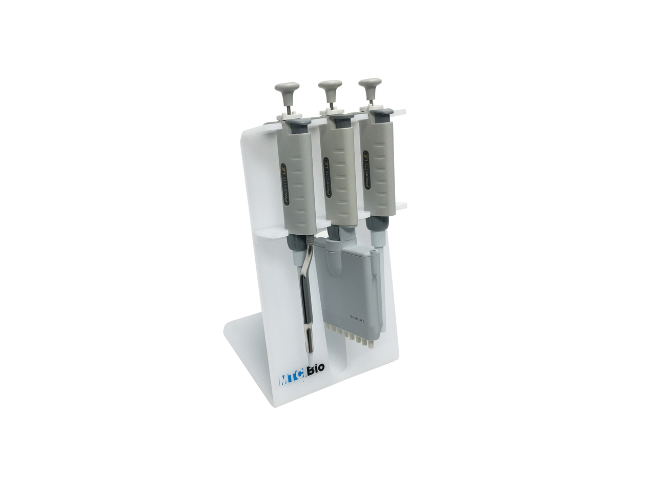 SureStand Pipette Rack, for 3 pipettes, up to one multi-channel
