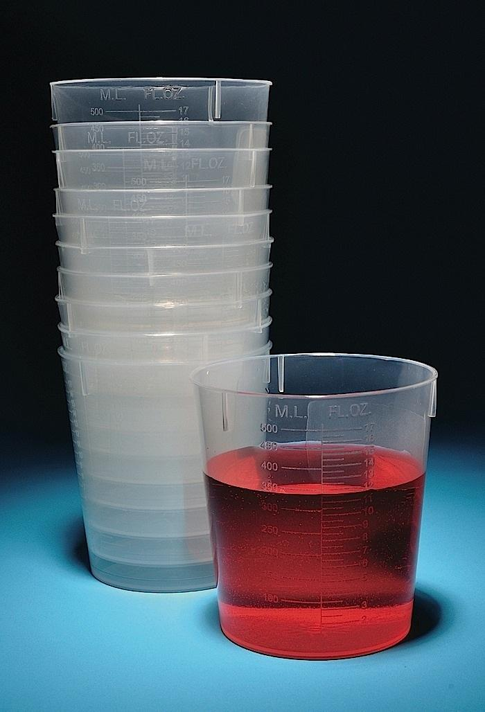 STACKABLE BEAKERS, POLYPROPYLENE (PP)