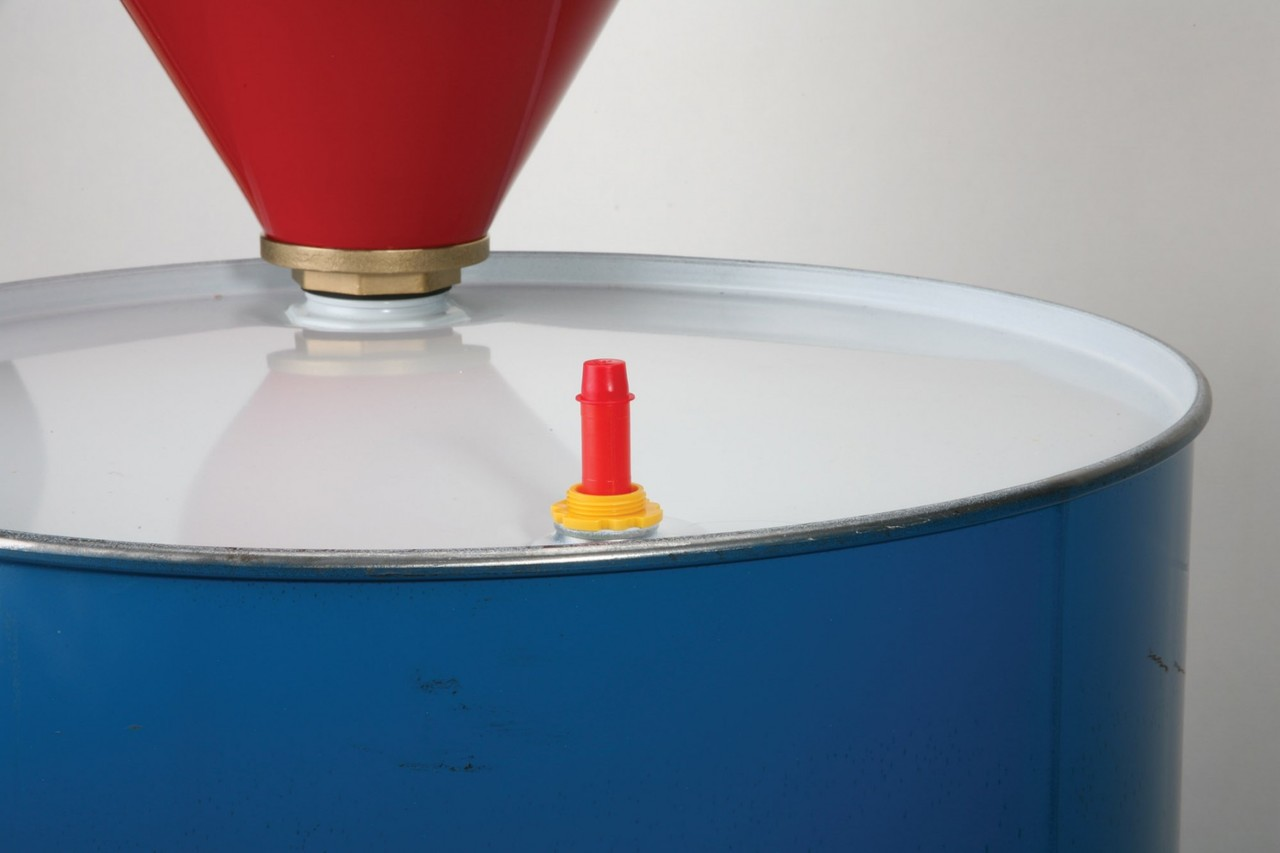 "Polyethylene Vertical Pop Up Drum Gauge 5"" for 3/4"" Bung"